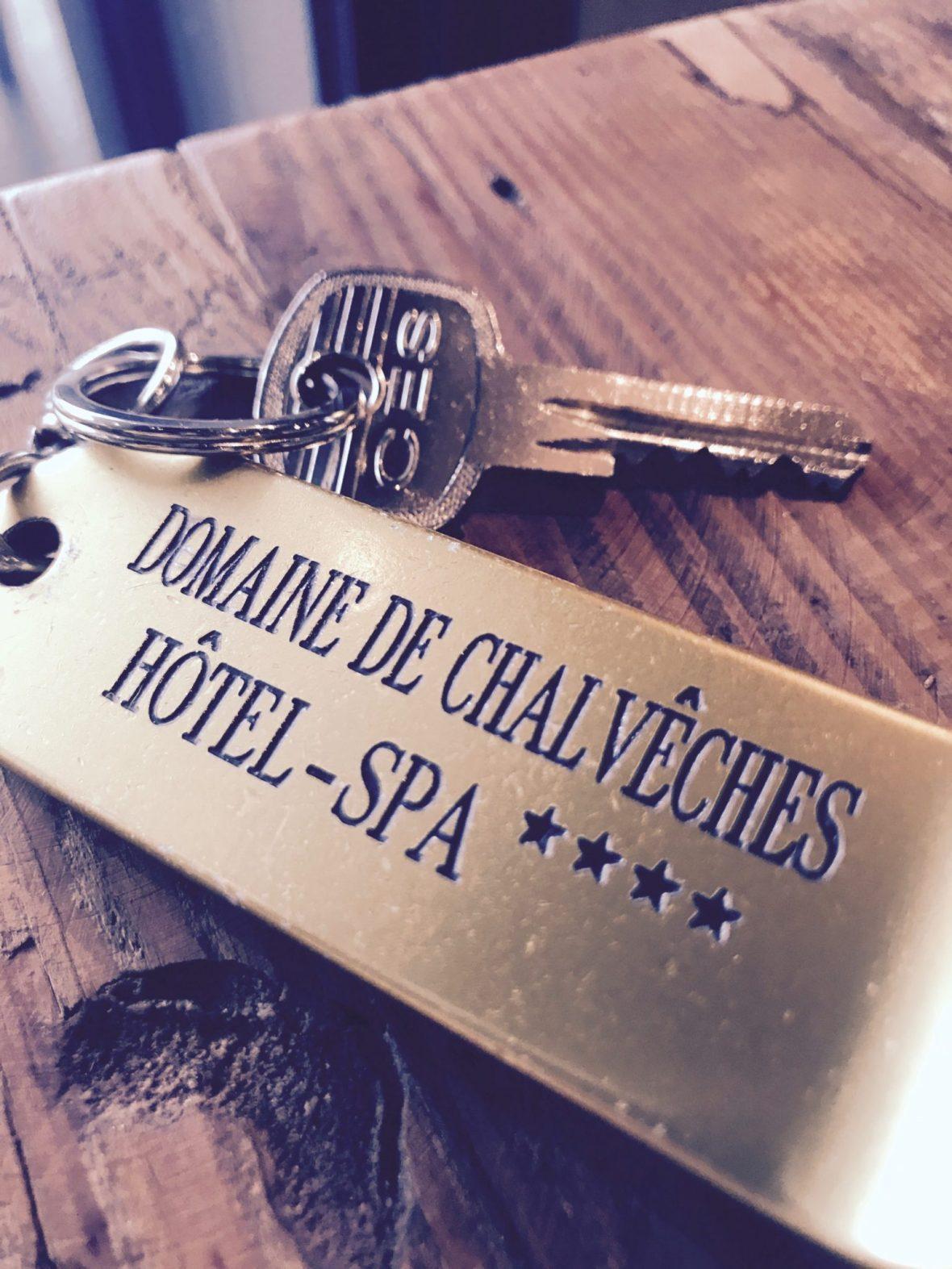 clé de la chambre