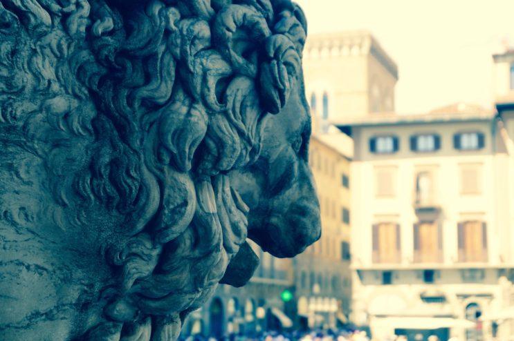 Lion piazza della Signoria