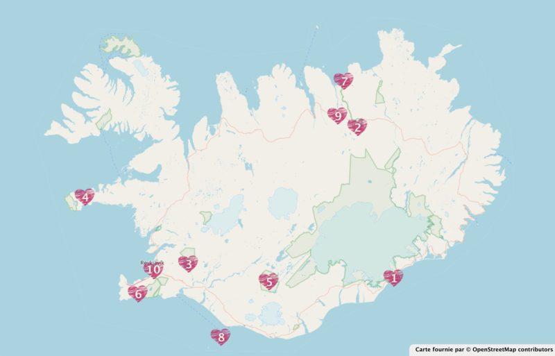 Les 10 lieux immanquables en Islande