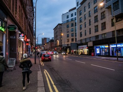 Rues de Glasgow