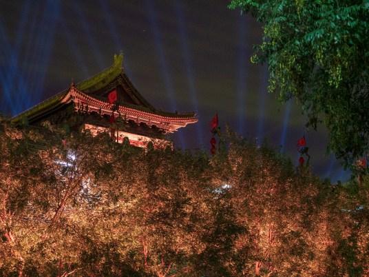 Xi'an de nuit