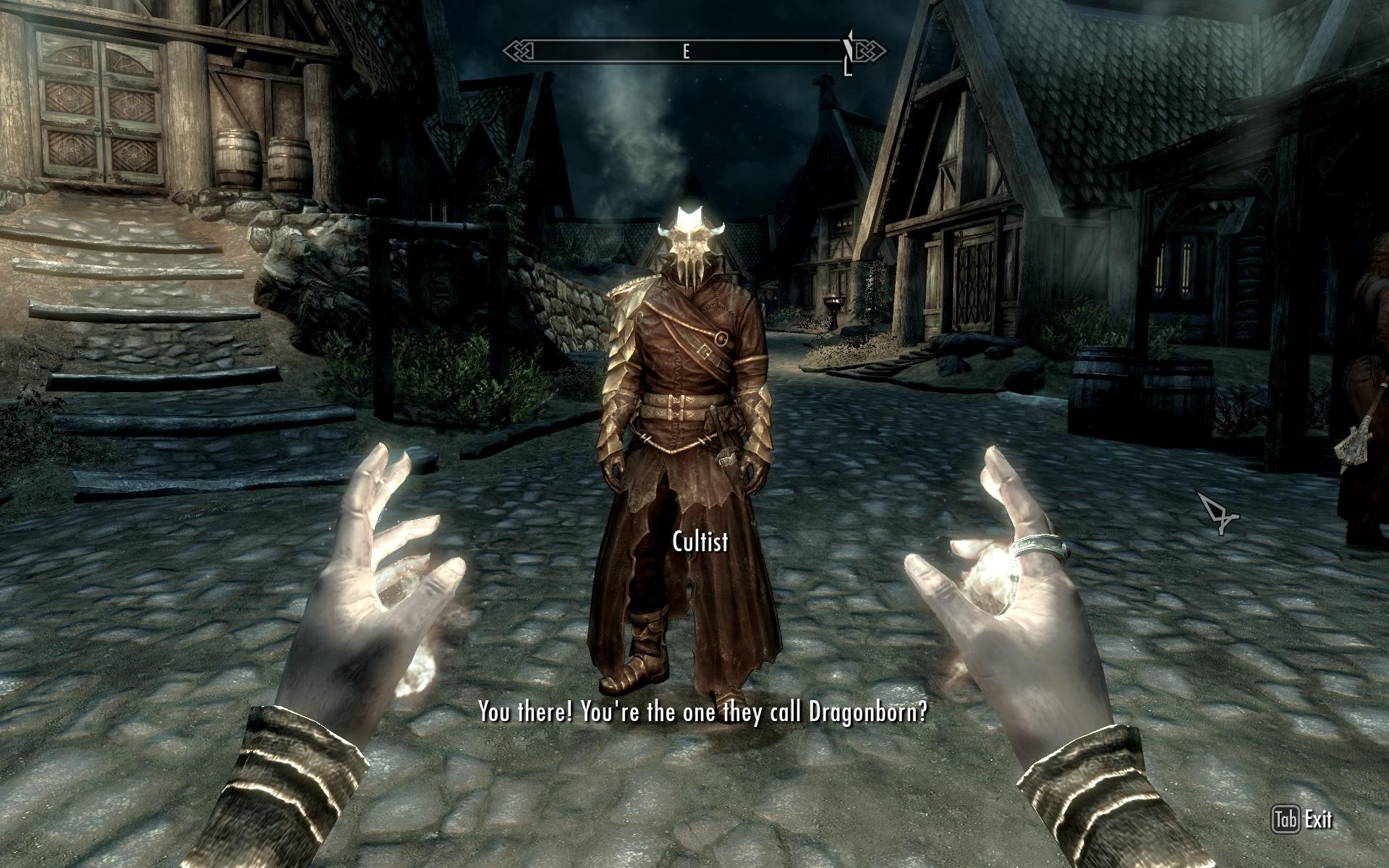 The Elder Scrolls V Skyrim Dragonborn Review Commie