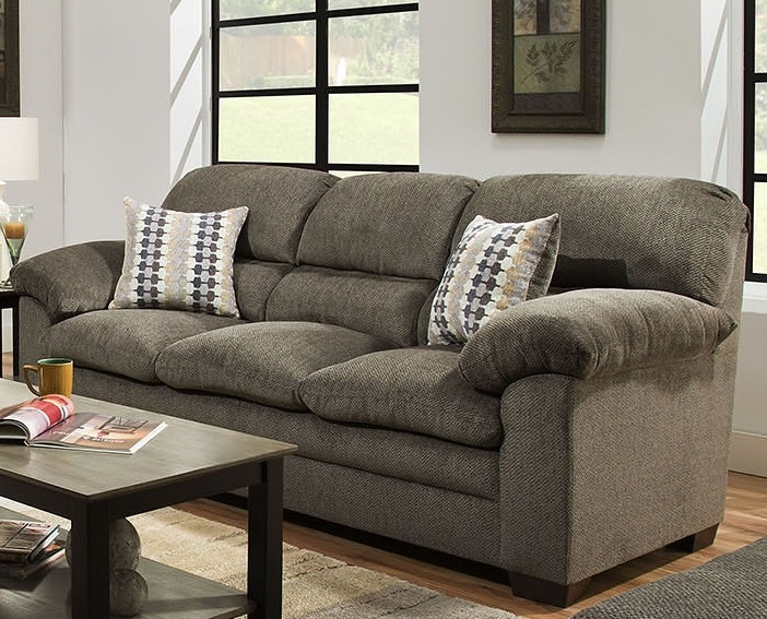 Box Style Seat Cushions Commercial Interiors - Ashford Sectional & Living Room