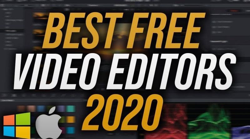 Top 5 Best FREE Video Editing Software 2020 (No Watermarks)