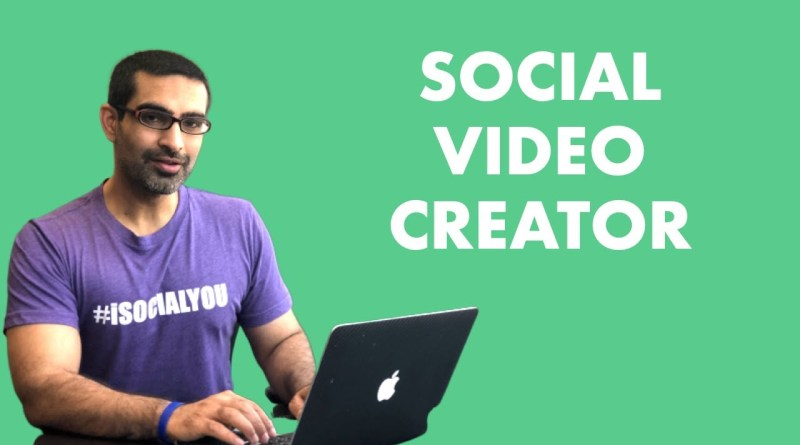Best Social Media Video Creator 2019 - Invideo Tutorial 1