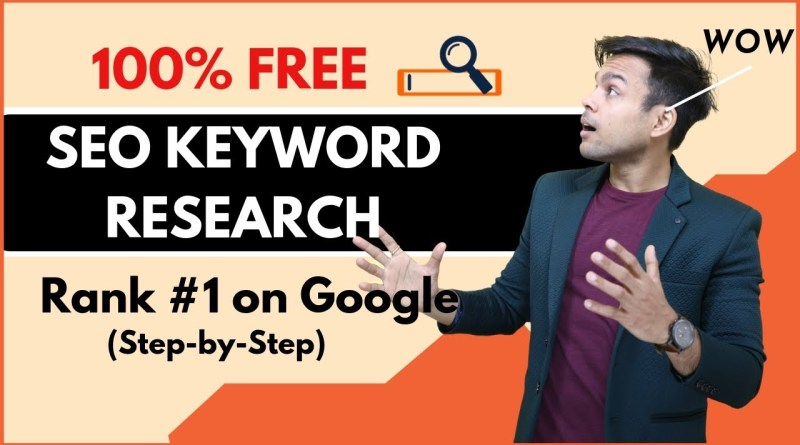FREE Keyword Research for SEO in 2020 (3-Step 100% Working Blueprint)