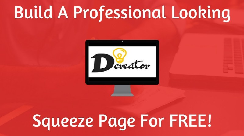 How To Create a Squeeze Page For FREE - Step By Step Tutorial