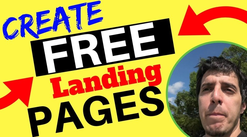 How To Create Simple Squeeze Pages For Free