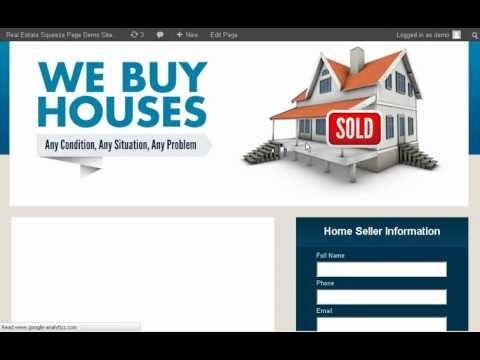 Real Estate Squeeze Page | How To Instantly Create a Real Estate Squeeze Page in 5 Minutes Or Less!