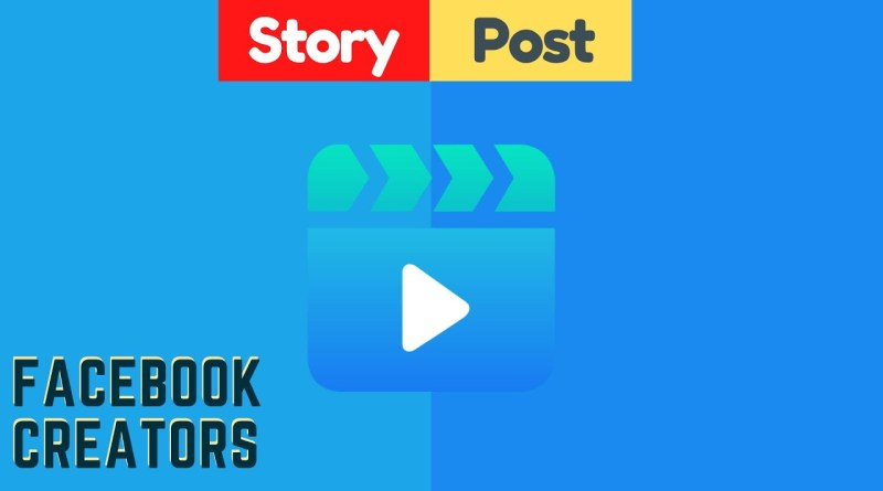 how to post story on Facebook page creator studio