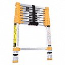 8 ft 6 in Extended Ladder Height Telescoping Ladder, 250 lb Load Capacity, 30 in Closed Height - Available in(250 & 300 lb capacity, ANSI type 1 & 1A)