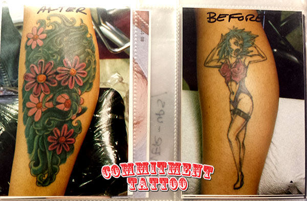 Bad Ink Tattoo CoverUps and Tattoo Touchups  Fixing