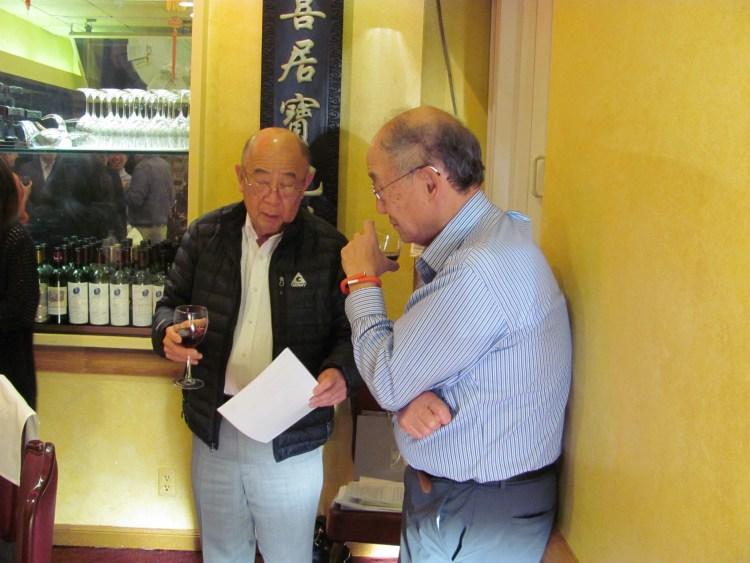 Dennis Wu and George Koo