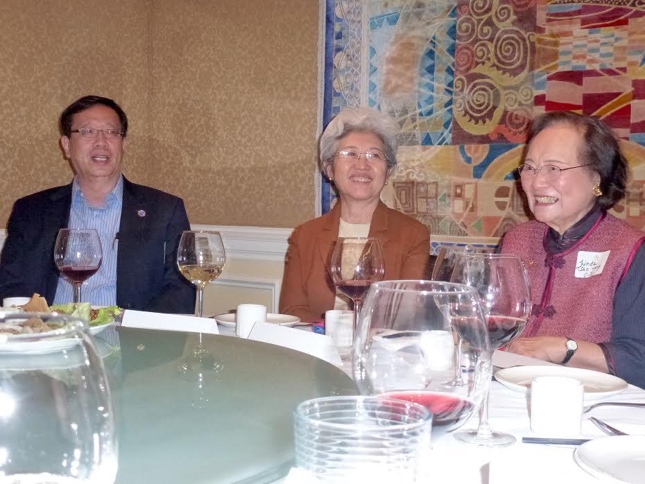 Fu Ying, Ken Fong, Linda Tsao Yang