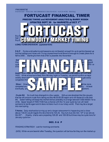 Fortucast Sample Financial Timer