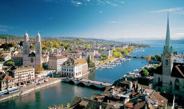 If you want to land a trading job in Switzerland, Zurich is a great city.