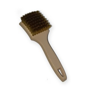 BRUSH – WHITE WALL BRASS
