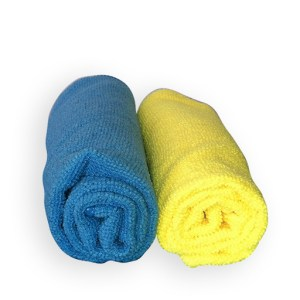 MICRO FIBER CLOTH (BLUE/YELLOW)