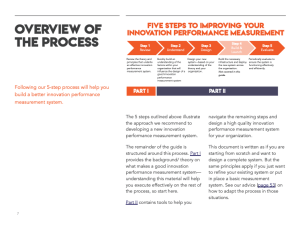 Follow these 5 steps to improve your innovation performance measurement.