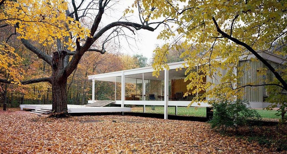 Iconos de la arquitectura La Casa Farnsworth  commoestudio