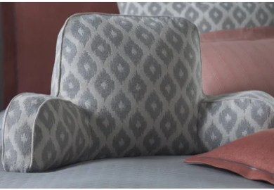Bed Rest Pillow With Cup Holder
