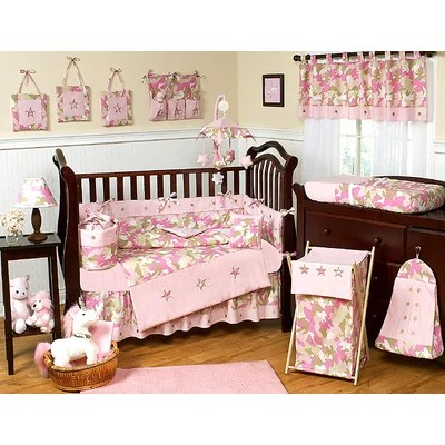 Camouflage Baby Bedding