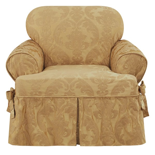 Sure Fit Slipcovers T-Cushion Chair