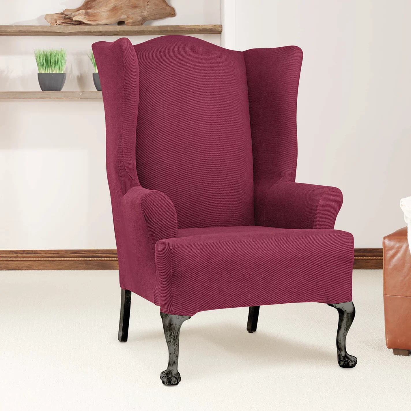 Sure Fit Arm Chair TCushion Slipcover  eBay