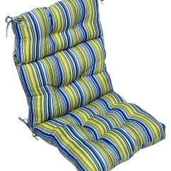 High Backed Chair Cushions Baby Shower For Mother To Be Greendale Home Fashions Indoor Outdoor Back