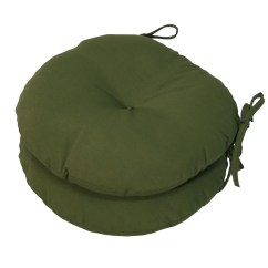 Round Cushions For Outdoor Chairs Swing Chair Baby Best Greendale Home Fashions Bistro Cushion