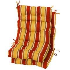 High Backed Chair Cushions Pottery Barn Office Greendale Home Fashions Outdoor Back Cushion
