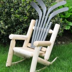 Log Style Adirondack Chairs Steel Chair Models Ski Children 39s Hockey Ebay