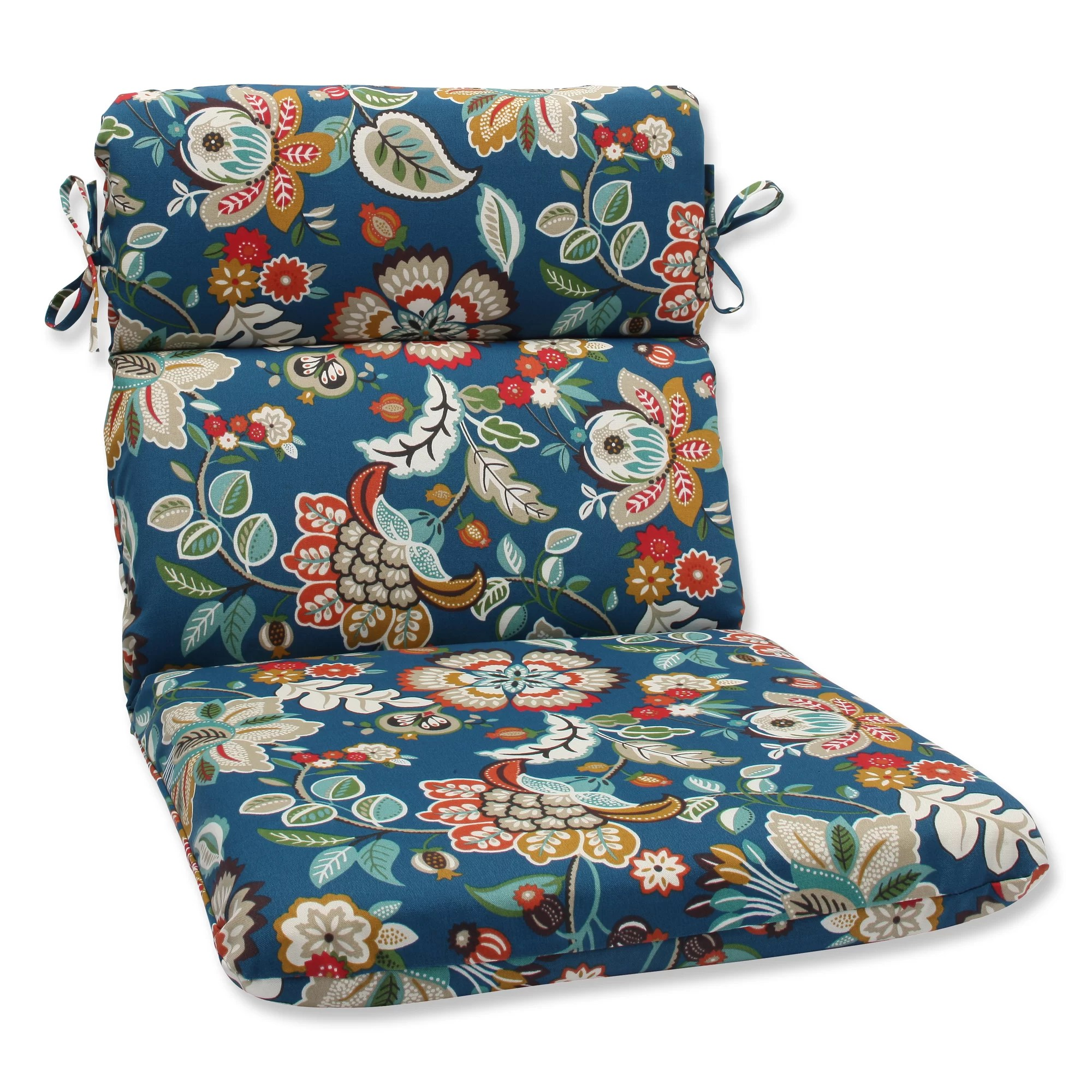 Outdoor Lounge Chair Cushions Pillow Perfect Telfair Peacock Outdoor Chaise Lounge