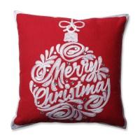 Pillow Perfect Christmas Ball Throw Pillow | eBay