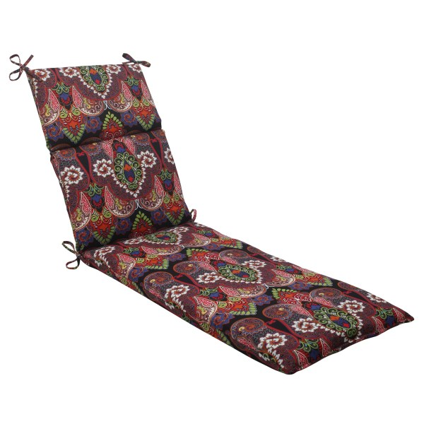 Pillow Perfect Marapi Outdoor Chaise Lounge Cushion