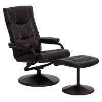 Flash Furniture Contemporary Soft Leather Reclining Office ...