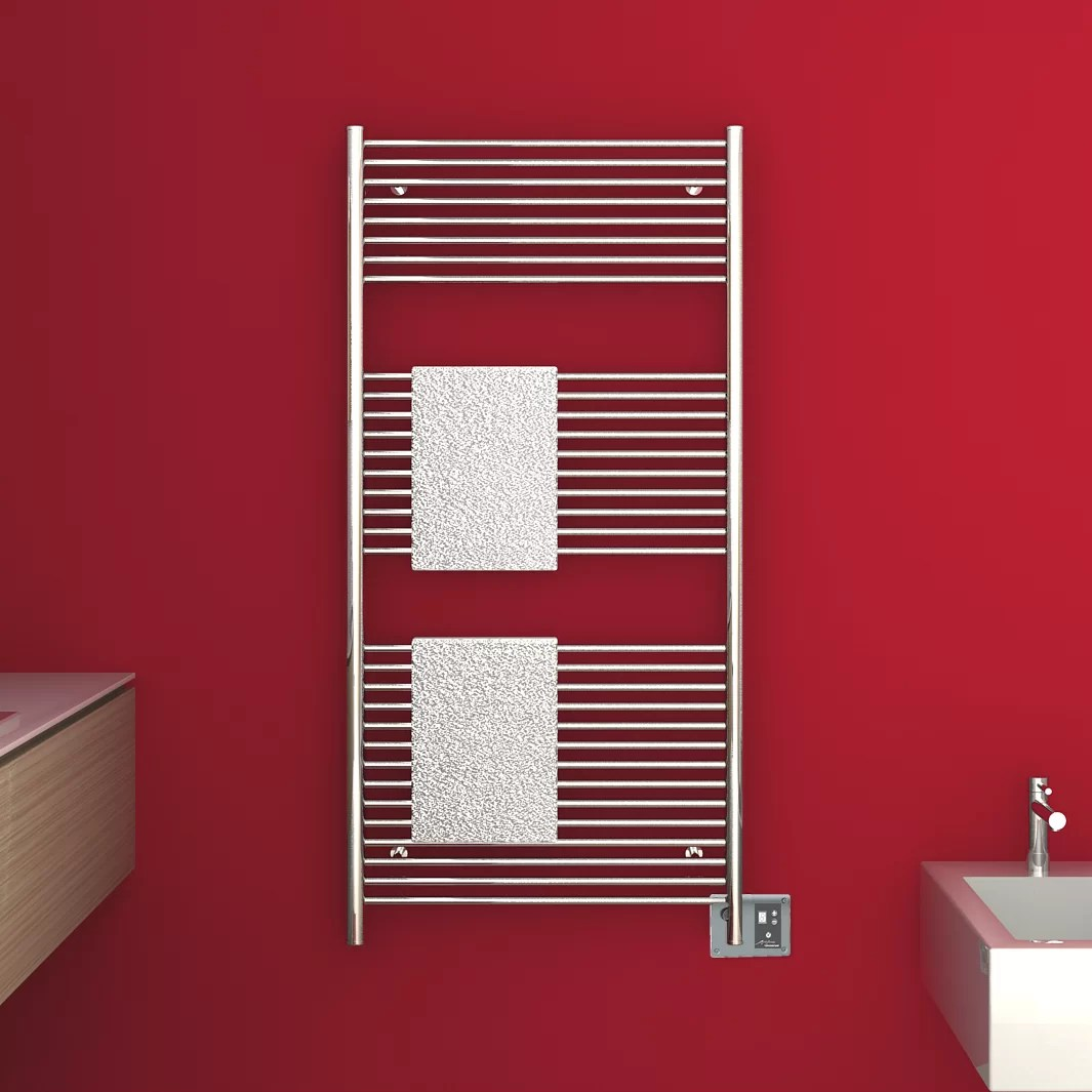 Amba Antus Wall Mount Electric Towel Warmer Polished
