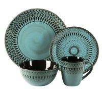 American Atelier Delilah 16 Piece Dinnerware Set   eBay