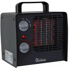 Electric Fan Heaters Trail Tech Wiring Diagram 1 500 Watt Portable Compact Heater With