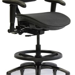 Desk Chair Leans Forward Craigslist Recliner Chairs Crown Seating Stealth Pro Mesh Ebay