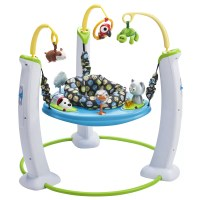 Evenflo ExerSaucer My First Pet Jump and Learn Stationary ...