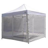 10'x10' Pop Up Canopy Tent Mesh Sidewalls Screen Room ...