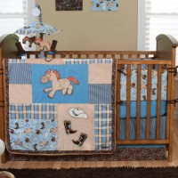 Trend Lab Cowboy Baby 4 Piece Crib Bedding Set | eBay
