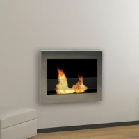 ambionair flame led wall mounted fireplace ef 1510 bgl ...