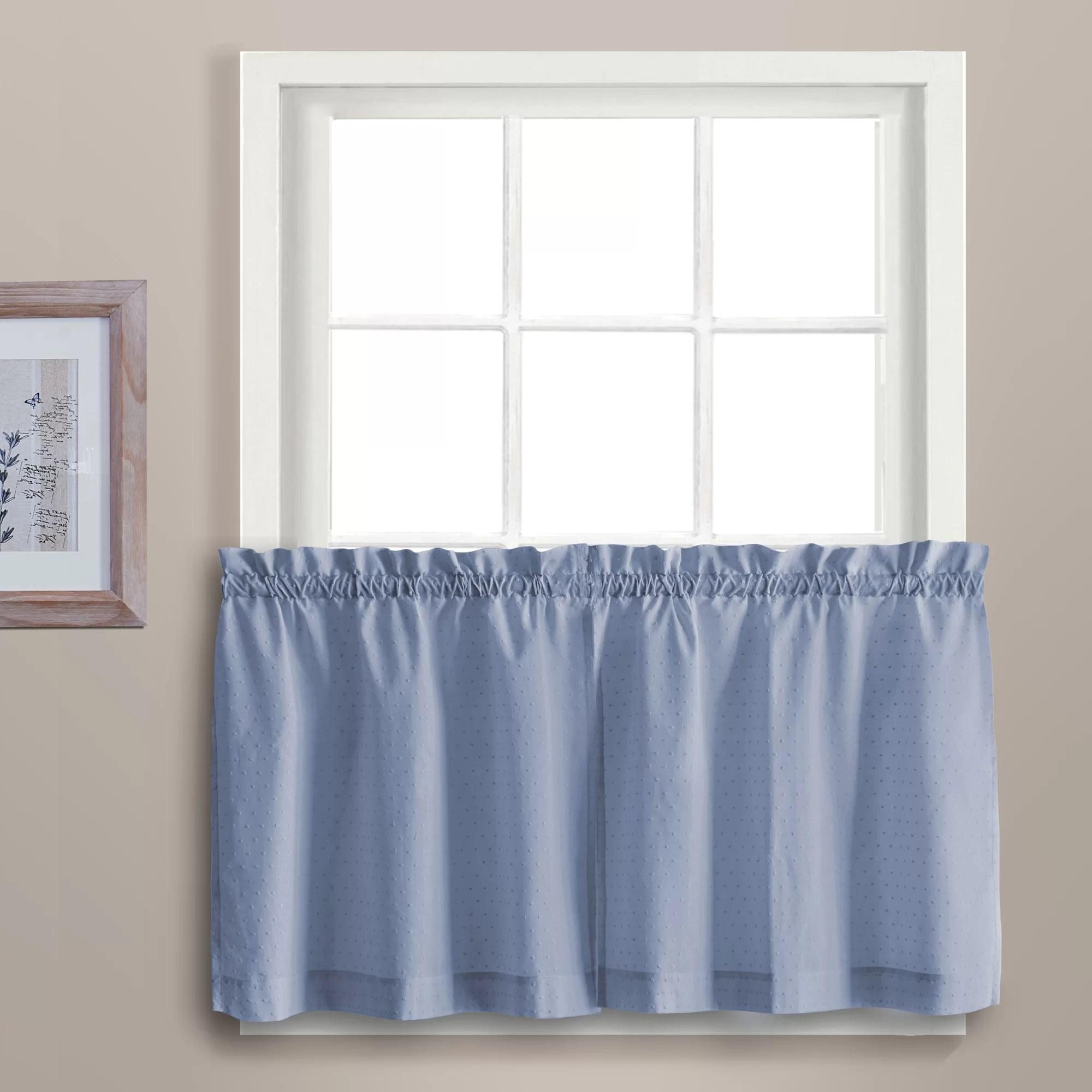 kitchen tier curtains pass through window united curtain co dorothy ebay