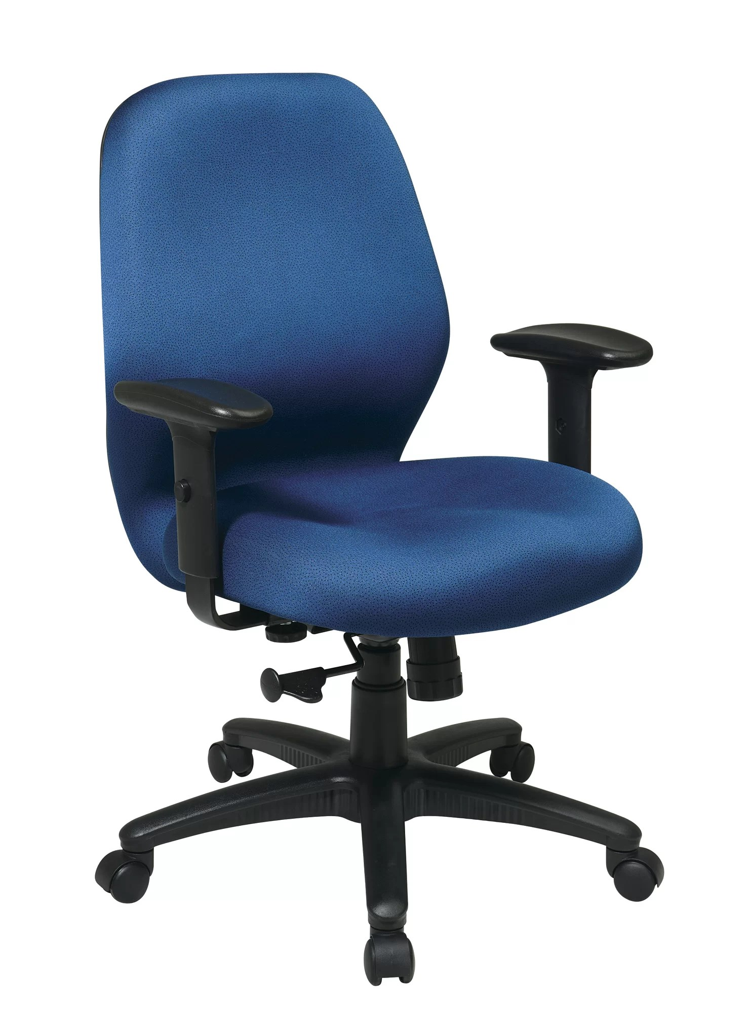 Work Chair Office Star Products Work Smart Mid Back Desk Chair Ebay