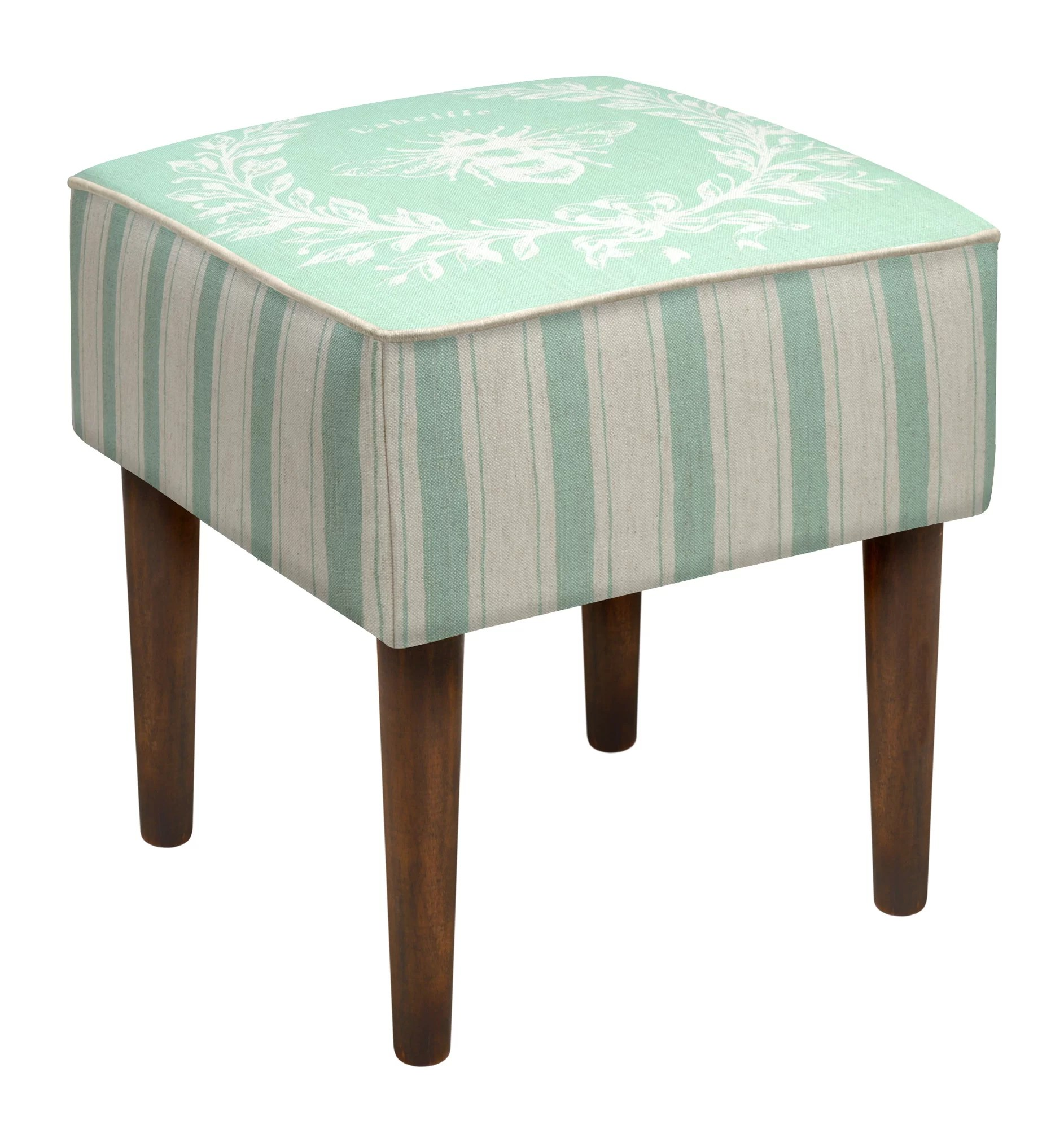 Upholstered Vanity Chair 123 Creations Napoleon Bee Upholstered Vanity Stool