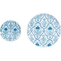 Wilco Home Metal Wall Decor Plates Set of 2 | eBay