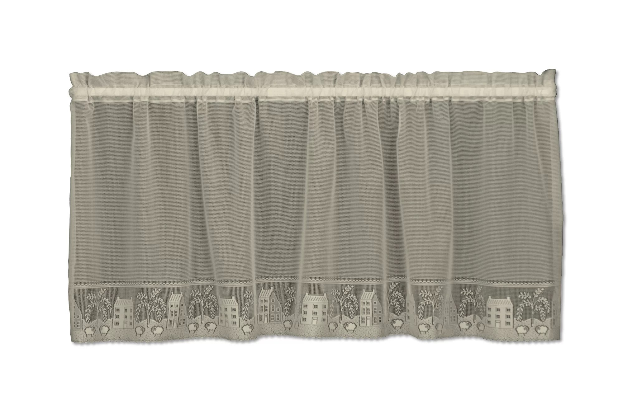 Heritage Lace Country Willow Tier Curtain