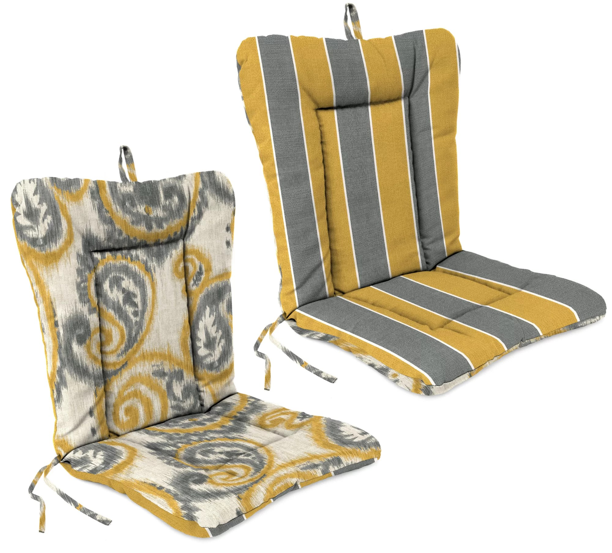 making adirondack chair cushions tan leather dining room chairs jordan manufacturing outdoor cushion ebay